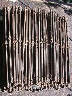 100 balustres en fonte / rambarde escalier
