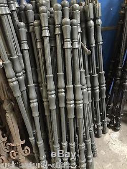 10 balustres en fonte / rambarde ou escalier