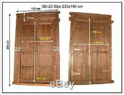 150 Jahre Vieux Indien Portail Porte Tor. Made To Last