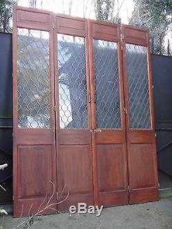 174 X 213 cm Suite de 4 portes de style, bibliothèque, séparation, autre