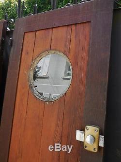 187,5 X 117 cm Paire d'anciennes portes de garage, dressing, autre