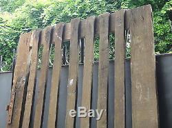 209 X 94 cm Ancienne porte de grenier, ferme, bois