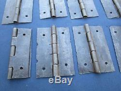 25 fiches à larder goupilles charnière fer ancien Ht 8 cm portes volets placard