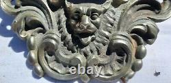 2 Bouches de Billard en Bronze 19 ème