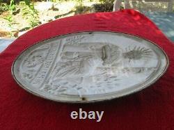2 Plaques Anciennes Notaire Republique Francaise En Laiton Panneau Panonceau