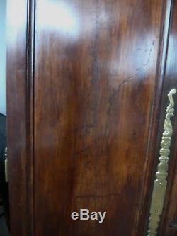 2 TRÈS BELLES PORTES DARMOIRE ANCIENNE EN BOIS MASSIF 120CM x 165CM
