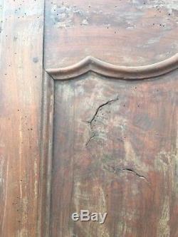 2 portes en bois Portes de placard encastré Portes Anciennes Art Déco