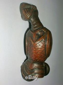 2 rares anciennes poignées porte fenetre serrure bronze chateau maison maitre
