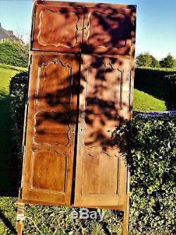 4 Portes De Placard Anciennes En Chëne