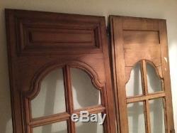 4 portes de bibliothèque placards anciennes