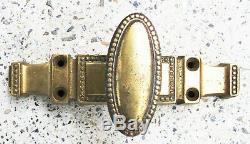 5 Anciennes Crémones Bronze Louis XVI de Fenêtres Quincaillerie Château Maison
