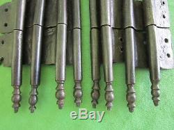 8 petites fiches à larder complètes fer forgé ancienne Louis XIV hauteur 15 cm