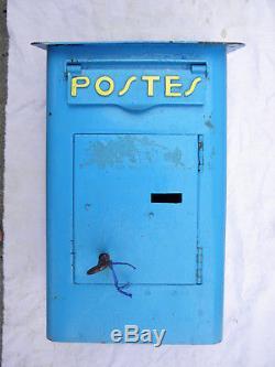 ANCIENNE BOITE Aux LETTRES POSTES FOULON. 22/17/38 cm