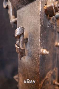 ANCIENNE SERRURE ÉPOQUE XVIIème SIÈCLE D'ORIGINE ALLEMANDE OLD LOCK ALT SCHLOSS
