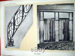 ART DECO ARCHITECTURE La ferronnerie Moderne 3 CLOUZOT 1925 PROUVE BRANDT KISS