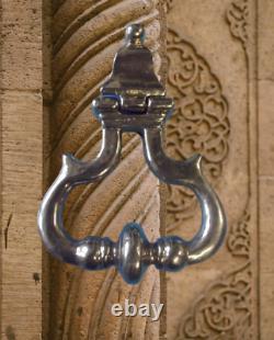 Ancien Gros heurtoir de porte laiton Poignée architecture Vintage serrurerie
