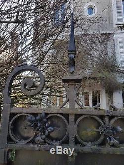Ancien Portail En Fer Forge