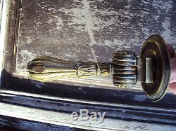 Ancien heurtoir de porte en bronze 19 ème
