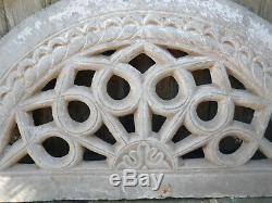 Ancien imposte / moucharabieh de porte indienne