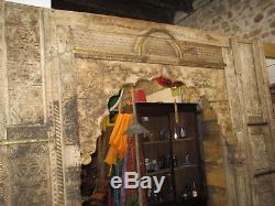 Ancienne Arche / portes indienne 210 x 239 cm