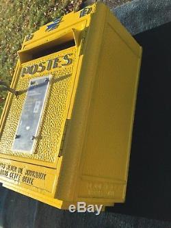 Ancienne BOITE A LETTRES RÉFORMÉE PTT LA POSTE DEJOIE LOFT INDUS 1970