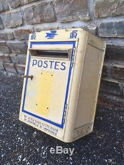 Ancienne Boite A Lettres Réformée 1967 Ptt La Poste Dejoie Loft Indus