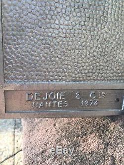Ancienne Boite A Lettres Réformée 1974 Ptt La Poste Dejoie Loft Indus