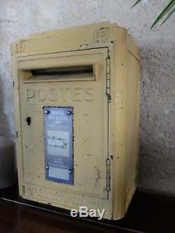 Ancienne Boite A Lettres Réformée Ptt La Poste Dejoie Loft Indus