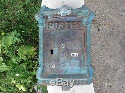 Ancienne Boite Aux Lettres Poste Mougeotte Delachanal Mail Box Briefkasten Buzon