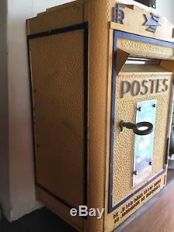 Ancienne Boîte Lettres LA POSTE réformée Bel État Avec Clé