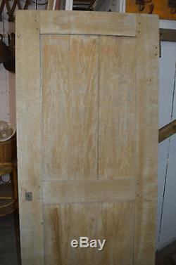 Ancienne Porte En Hetre / 70 Cms De Large X 173.5 Cms De Haut