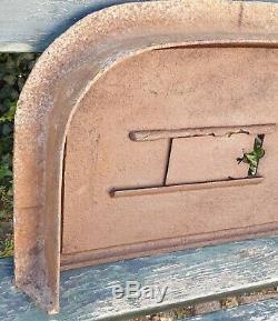 Ancienne Porte de four a Pain avec Cadre. MAGNY PRES LURE N°1