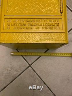 Ancienne Rare Petite Boite A Lettres Réformée Ptt La Poste Dejoi Loft Indus 1951