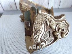 Ancienne Serrure En Bronze De Belle Facture A Voir