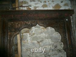 Ancienne arche indienne 139 x H212 cm / livraison possible