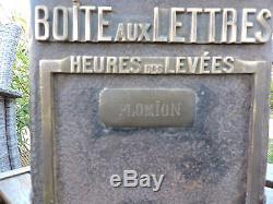 Ancienne boite aux lettres FOUCHER VILLE PLOMION AISNE PICARDIE GARE POSTE