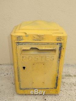 Ancienne boite aux lettres PTT LA POSTE 1962 dejoie deco loft industriel