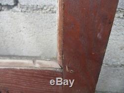 Ancienne paire de porte en chêne sculpté instrument de musique 19 eme