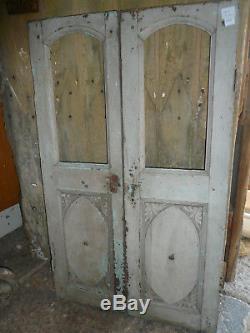 Ancienne paire de portes indienne