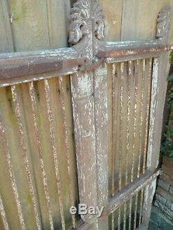 Ancienne portail indien 94 x H134 cm / livraison possible
