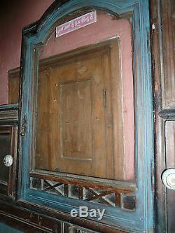 Ancienne porte boutique indienne