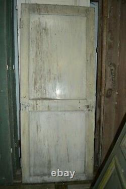 Ancienne porte de communication / 82 cms x 1 m 99 de haut