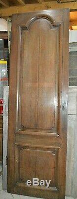 Ancienne porte de communication en chêne / 75 cms x 2 m 32 de haut