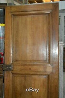 Ancienne porte de communication en chêne / 87 cms x 1 m 97 de haut