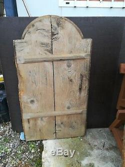 Ancienne porte de mazot de Savoie, art populaire