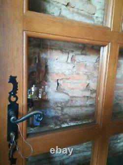 Ancienne porte en chêne