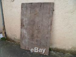 Ancienne porte en chêne de grenier XVIIIème siècle voir XVIIème