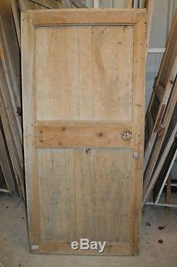 Ancienne porte en pitchpin / 1m85 de haut x 88 cms de large