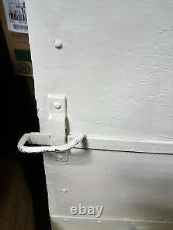 Ancienne porte fer forgé riveté