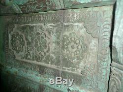 Ancienne porte indienne 110 x 213 x 7 cm